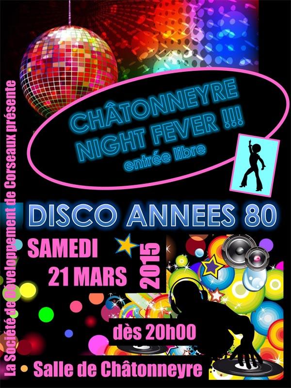 Soirée disco 2015